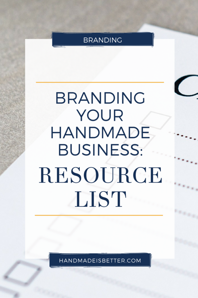 Branding A Business – Resource List