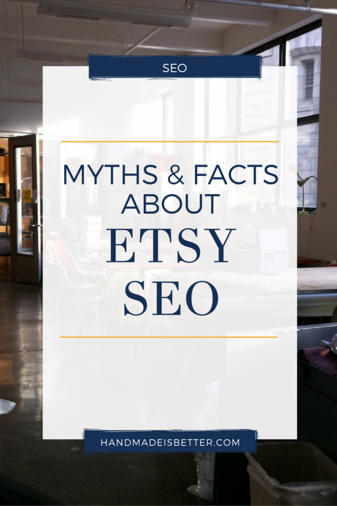 Myths and Facts about Etsy SEO