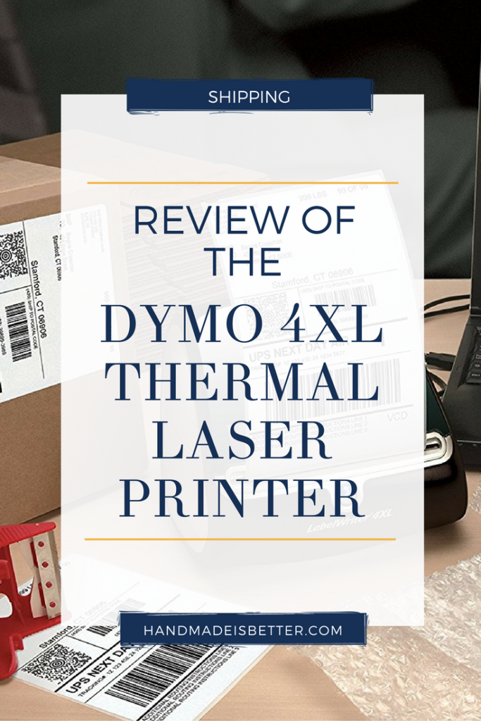 Review of the DYMO 4XL Thermal Laser Printer